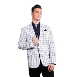 Elie Balleh Men's Milano Italy 2016 Style Slim Fit Jacket/Blazer (Option: S)|https://ak1.ostkcdn.com/images/products/P18612016m.jpg?impolicy=medium