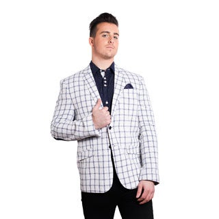 Elie Balleh Men's Milano Italy 2016 Style Slim Fit Jacket/Blazer (More options available)