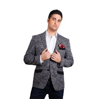 Elie Balleh Milano Italy Men's Cotton Slim Fit 2015 Style Jacket/Blazer|https://ak1.ostkcdn.com/images/products/P18612154jt.jpg?impolicy=medium