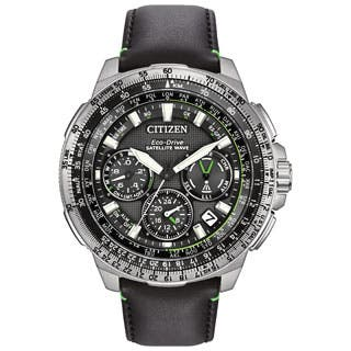 Citizen Men's Black Leather Stainless Steel Promaster Navihawk GPS Multifunction Eco-Drive Watch|https://ak1.ostkcdn.com/images/products/P18616865a.jpg?impolicy=medium