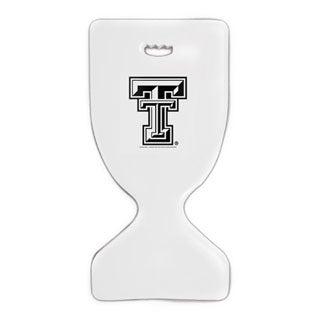 TRC Recreation White Finish Texas TechSS Deluxe Saddle