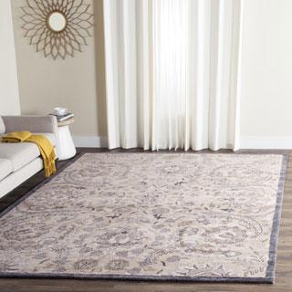 Safavieh Handmade Bella Beige/ Multi Wool Rug (6' x 9')