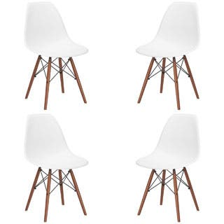 Poly and Bark Vortex Dining Chair with Walnut Legs (Set of 4)|https://ak1.ostkcdn.com/images/products/P18645083jt.jpg?impolicy=medium
