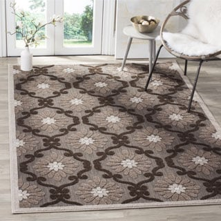 Safavieh Cottage Light Brown/ Brown Rug (9' x 12')