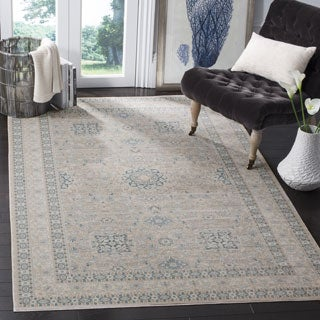 Safavieh Archive Vintage Grey/ Blue Distressed Area Rug (9' x 12')