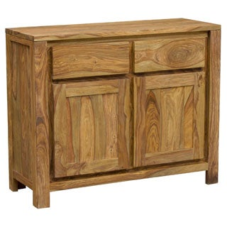 Wanderloot Urban Sustainable Sheesham 2-door, 2-drawer Buffet Sideboard