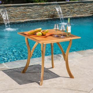 Square Outdoor Dining Tables For Less   Overstock.com