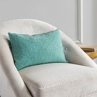 Safavieh Allure 18-Inch Aqua Blue Decorative Throw Pillow (Set of 2)