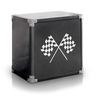 Furniture of America Born Racer Metal 2-shelf Nightstand|https://ak1.ostkcdn.com/images/products/P18681834a.jpg?impolicy=medium