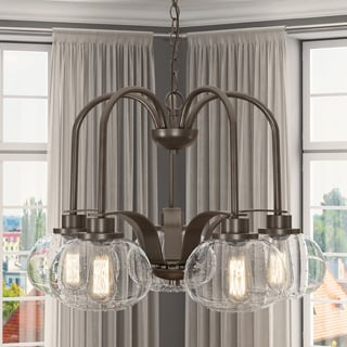 Quoizel Trilogy Five-light Dinette Chandelier