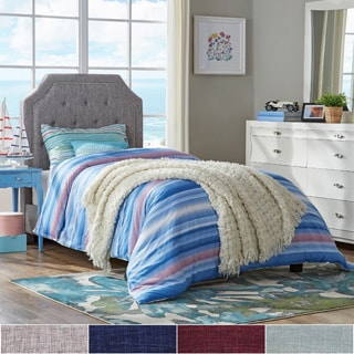 Grace Button Tufted Arched Bridge Twin-sized Upholstered Bed by IQ KIDS