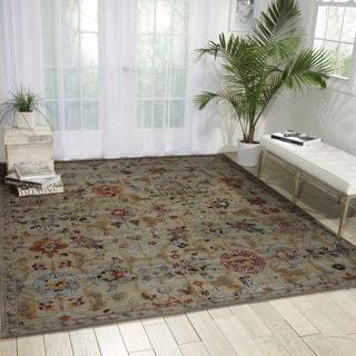 Nourison Timeless Taupe Rug (8'6 x 11'6)