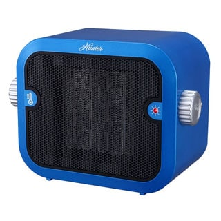 Hunter 1500W Retro Blue Ceramic Space Heater