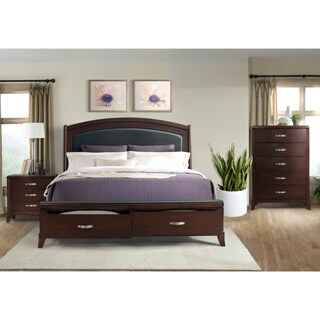Copper Grove Dalbeattie Queen Platform Storage 3PC Bedroom Set w/ USB
