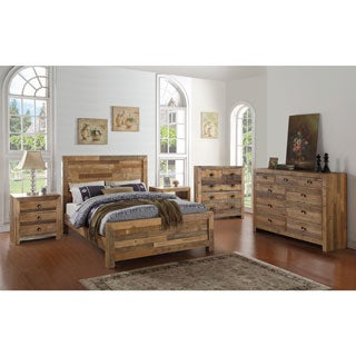 Oscar Natural Reclaimed Wood Bed by Kosas Home