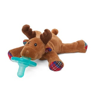 WubbaNub Reindeer Limited Edition Infant Pacifier Reindeer