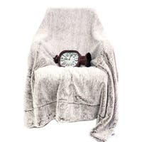 Luxury Soft Faux Fur Reversible Fleece Blanket