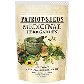 Medicinal Herb Garden Variety Pack of 100-percent Heirloom Non-GMO Easy-to-grow Herb Seeds (Pack of 10)|https://ak1.ostkcdn.com/images/products/P18763526jt.jpg?impolicy=medium