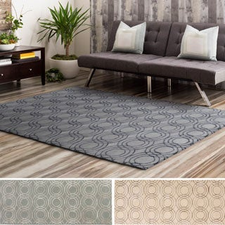 Hand-Tufted Luci Wool/Viscose Rug (5' x 7'6)