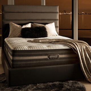 Simmons Beautyrest Black Desiree Plush California King-size Mattress Set