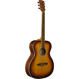 Eko Guitars 06217105 TRI Series Honeyburst Auditorium Acoustic Guitar