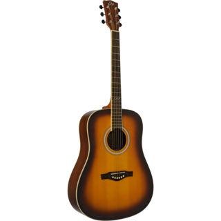 Eko Guitars 06217103 TRI Series Honey Burst Dreadnought Acoustic Guitar