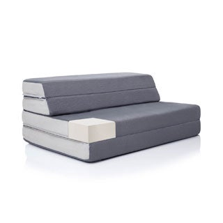 LUCID 4-inch Folding Mattress and Sofa Bed