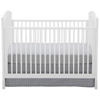 Antique White Spindle Crib With Conversion Kit Free