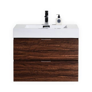 KubeBath Bliss 36-inch Single-sink Bathroom Vanity