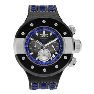 Invicta Men's 19179 S1 Rally Quartz Chronograph Black, Blue, Gunmetal Dial Watch
