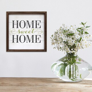 Stratton Home Decor 'Home Sweet Home' Wall Art