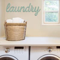 Stratton Home Decor 'Laundry' Wall Art