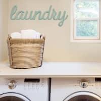 Stratton Home Decor 'Laundry' Wall Art