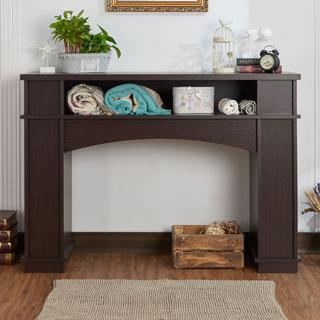 Furniture of America Hagen Modern Walnut Hallway/ Console Table