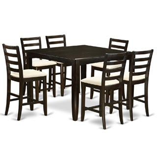 FAIR7-CAP 7-piece Pub-height Table Set