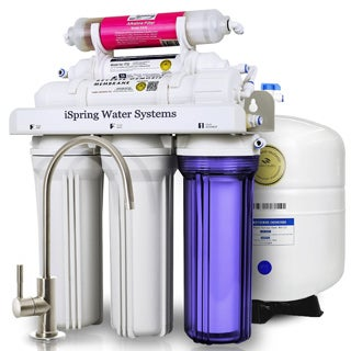 iSpring Reverse Osmosis Under-sink Alkaline Water Filter and Designer Faucet