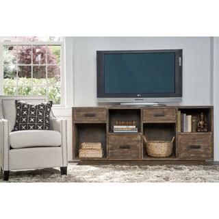 Kosas Home Garrett 4-drawer Rustic Mahogany Reclaimed Pine Sideboard