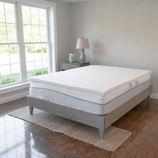 Soft 2-inch Visco Elastic Memory Foam Mattress Topper