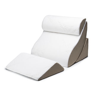 Avana 4-piece Kind Bed Comfort System with Rayon from Bamboo Cover - Off white