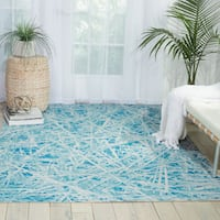Nourison Coastal Marine Indoor/ Outdoor Area Rug - 7'9 x 10'10