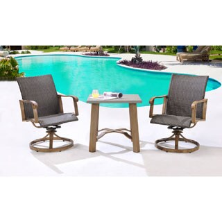 Hanover Outdoor HERDN3PC-BST Hermosa Three (3) Piece Bistro Dining Set