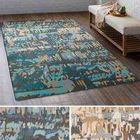 The Curated Nomad Gladstone Hand-tufted Wool Abstract Area Rug (8' x 10')