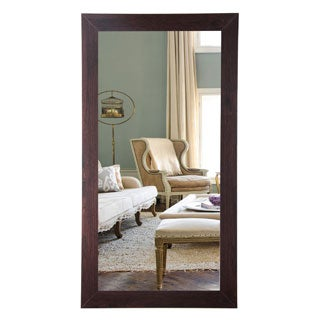 Walnut 32 x 66-inch Floor Mirror
