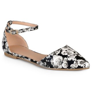 Journee Collection Women's 'Reba' Almond Toe Flats