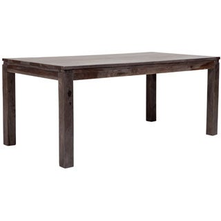 Wanderloot Big Sur Grey Wash Solid Sheesham Dining Table (India)