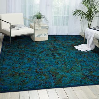 Nourison Timeless Peacock Area Rug (12' x 15')|https://ak1.ostkcdn.com/images/products/P19042950a.jpg?impolicy=medium