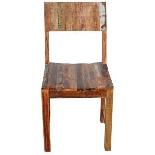 Wanderloot Brooklyn Reclaimed Wood Dining Chair