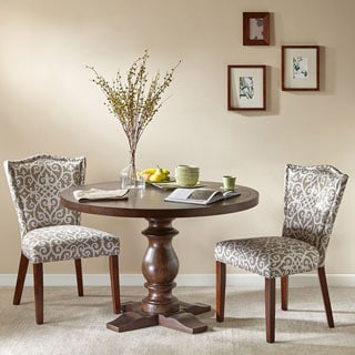 Madison Park Henry Mediterranean Round table with Turned Legs