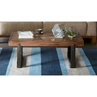 Madison Park Ellis Chestnut Coffee Table