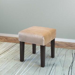 Antonio 16-inch Square Velvet Upholstered Bench